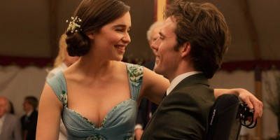 Emilia Clarke (som Louisa Clark), Sam Claflin (som Will Traynor). Stillbildsfoto: Alex Bailey  © 2015 Warner Bros. Entertainment Inc. and Metro-Goldwin-Mayer Pictures Inc.