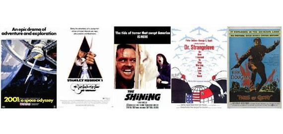 Kubricks fem bästa filmer